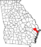 80px-Map_of_Georgia_highlighting_Bryan_County.svg