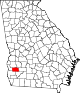 80px-Map_of_Georgia_highlighting_Calhoun_County.svg
