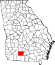 80px-Map_of_Georgia_highlighting_Colquitt_County.svg