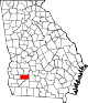 80px-Map_of_Georgia_highlighting_Dougherty_County.svg