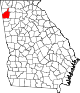 80px-Map_of_Georgia_highlighting_Floyd_County.svg