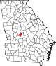 80px-Map_of_Georgia_highlighting_Peach_County.svg